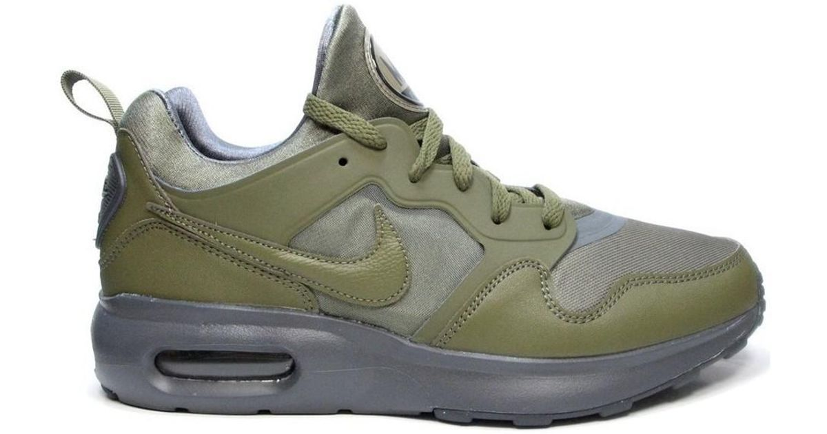 73dc1c7f36863 ... reduced nike air max prime mens shoes trainers in green in green for  men lyst 92ea9