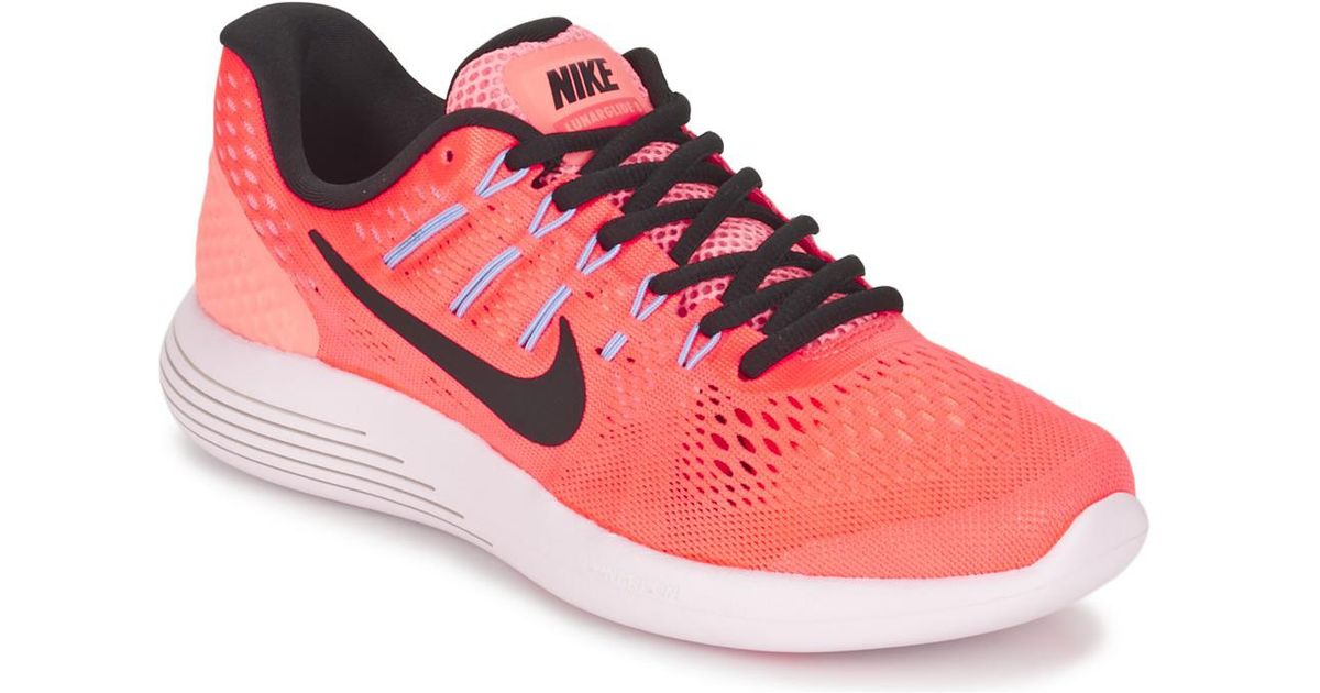 wholesale dealer 7da6f a53ea Nike - Lunarglide 8 W Women's Running Trainers In Pink - Lyst