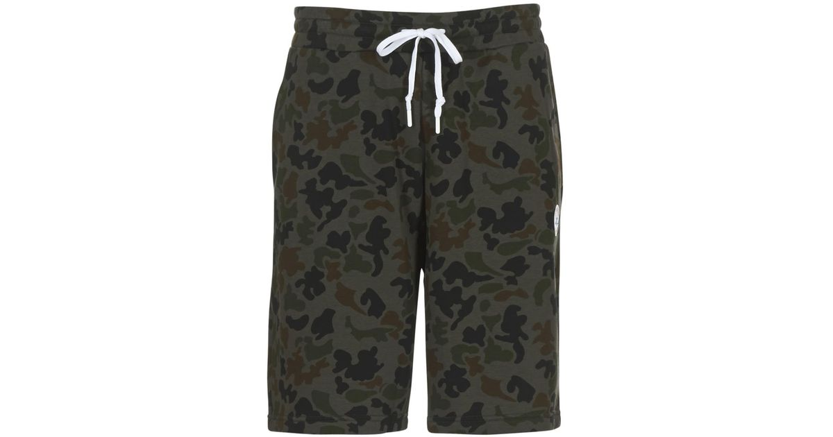 db2e4982394d Converse Camo Chuck Patch Short Men s Shorts In Green in Green for Men -  Lyst