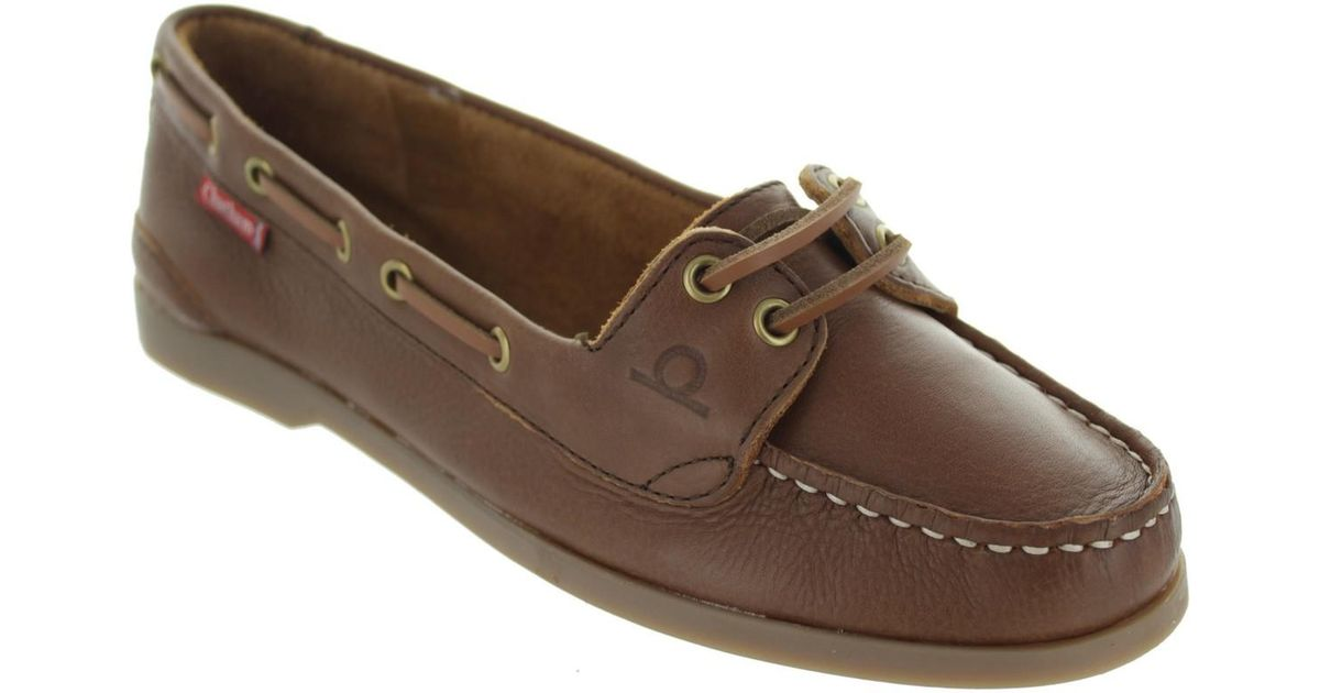 6ff7371f1 Chatham Rema Women's Boat Shoes In Brown in Brown - Lyst
