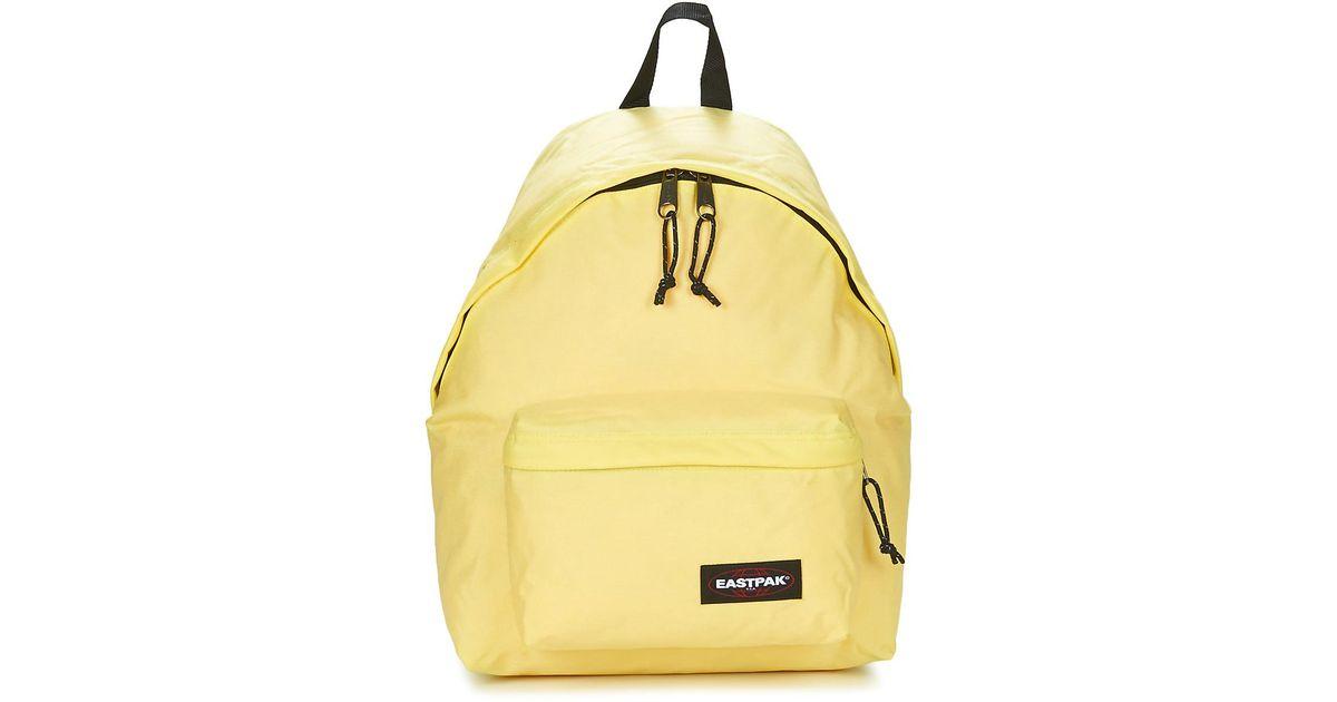 Eastpak Padded Pak r Women s Backpack In Yellow in Yellow - Lyst