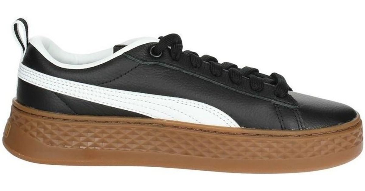aa8d2b64c521b3 Puma Smash Platform Vt Women s In Black in Black for Men - Lyst