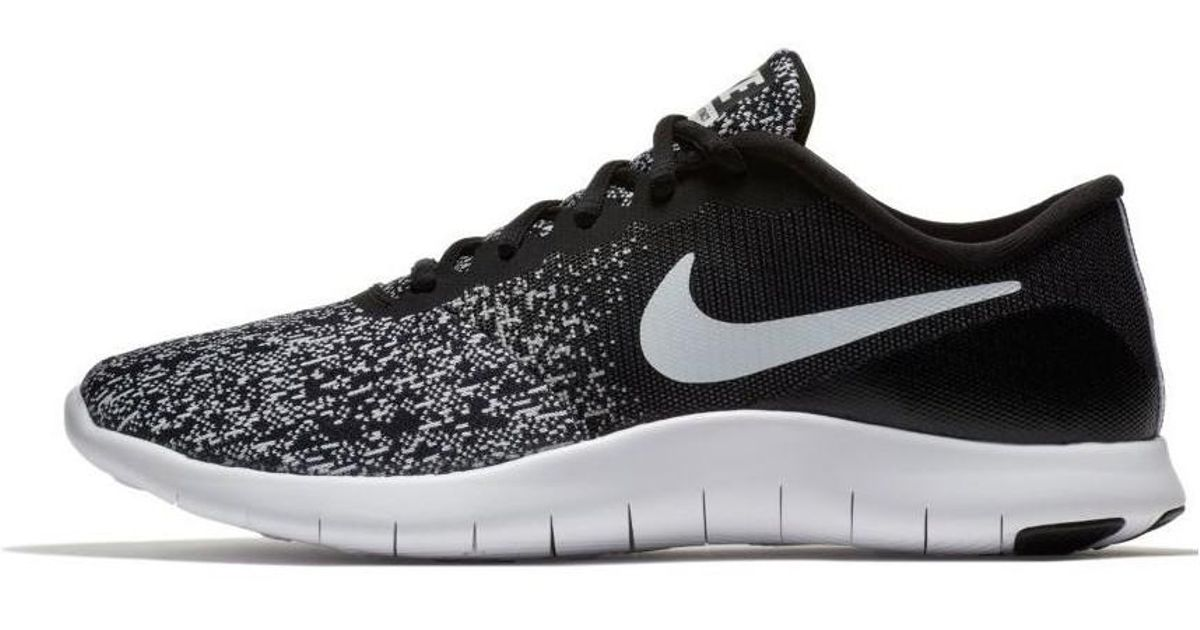 best authentic b88f3 e383f Nike Womens Flex Contact Running Shoe 908995 002 Womens Shoes (trainers)  In Black in Black - Lyst