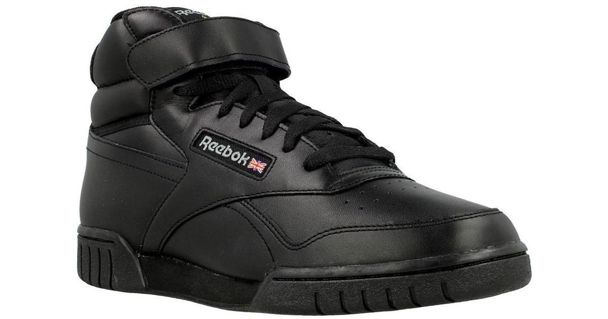 11ebdcb272db Reebok Exofit Hi Men s Shoes (high-top Trainers) In Black in Black for Men  - Lyst