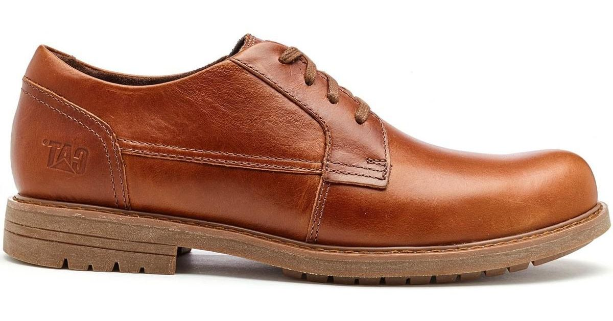 cae65c1fac928 Caterpillar Cat Cason Formal Leather Shoes In Brown Sugar P721987 Men's  Casual Shoes In Brown in Brown for Men - Lyst