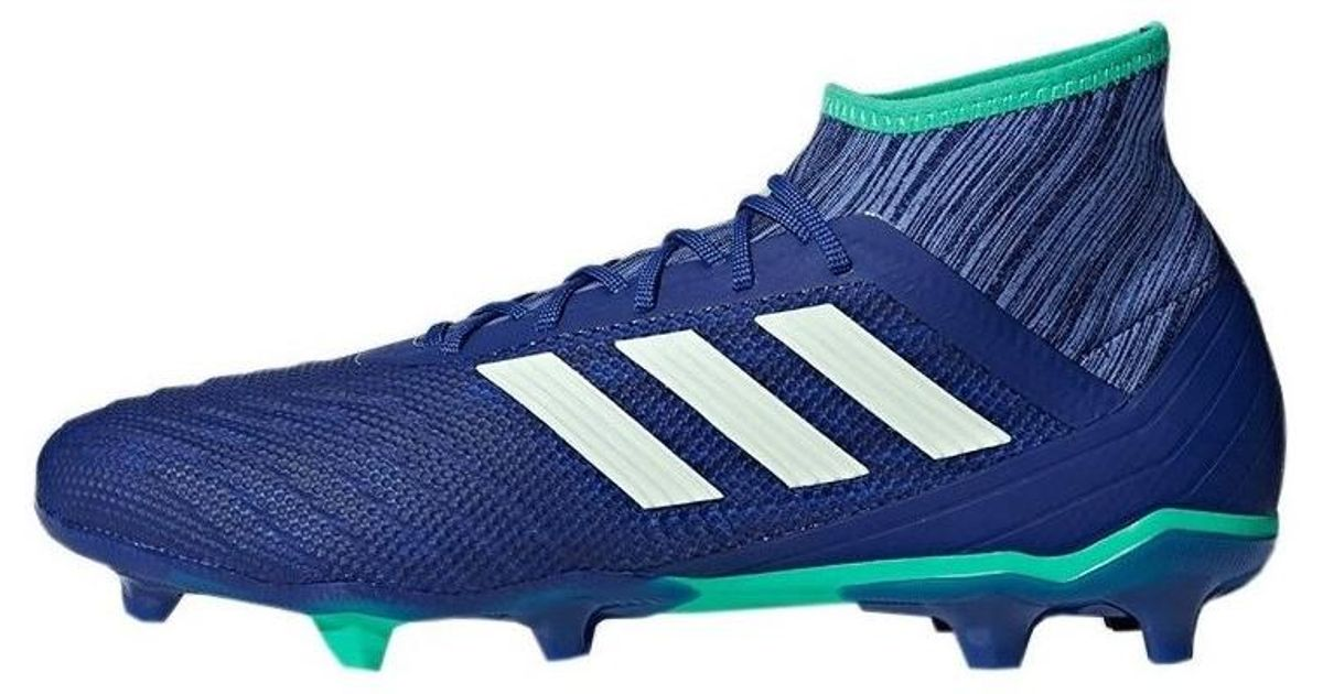 29e9aba99d3be ... top quality adidas predator 182 fg mens football boots in blue in blue  for men lyst