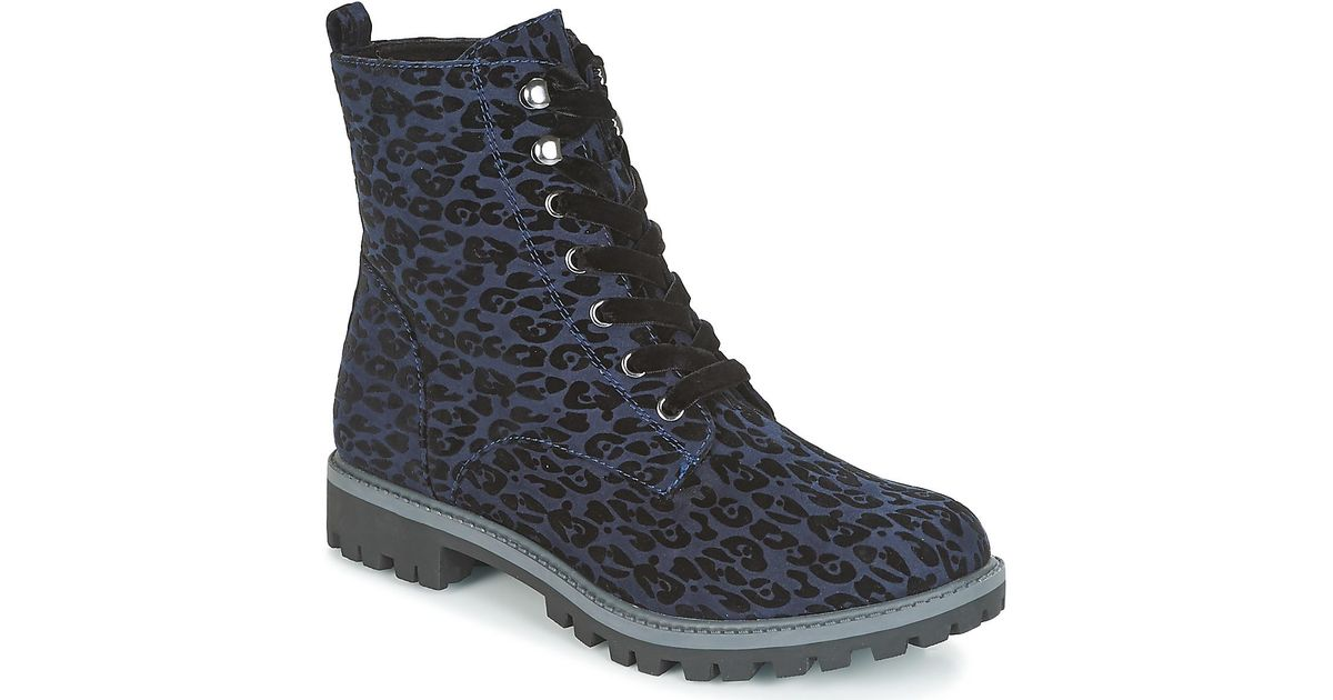 Lyst - ALVINI femmes Boots en bleu Tamaris en coloris Bleu -  1.7857142857142918 % de réduction 5cb76661c62