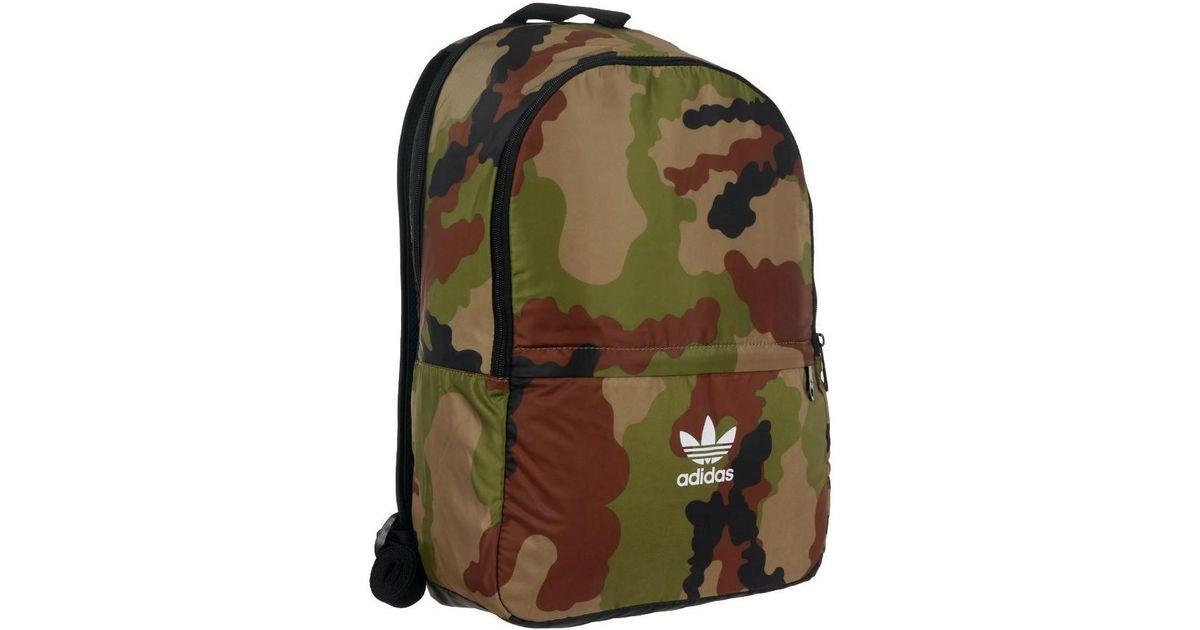 0107c78ac60b Adidas Originals Bp Ess Camo Men s Backpack In Black in Black for Men - Lyst