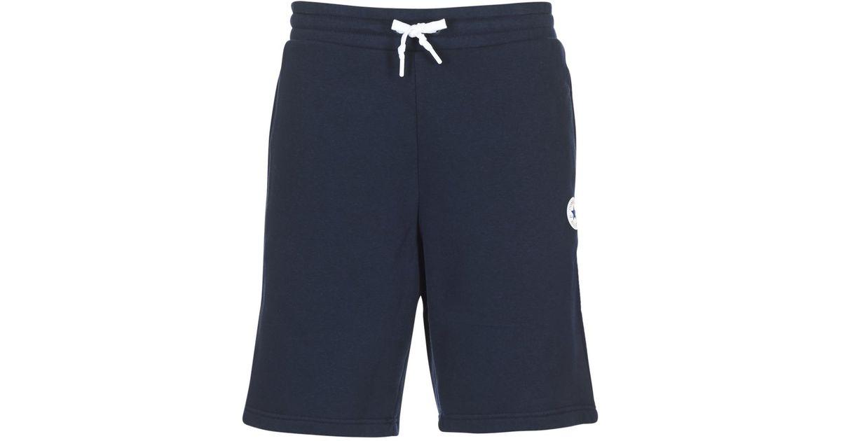 66416bac26df Converse Core Short Men s Shorts In Blue in Blue for Men - Lyst