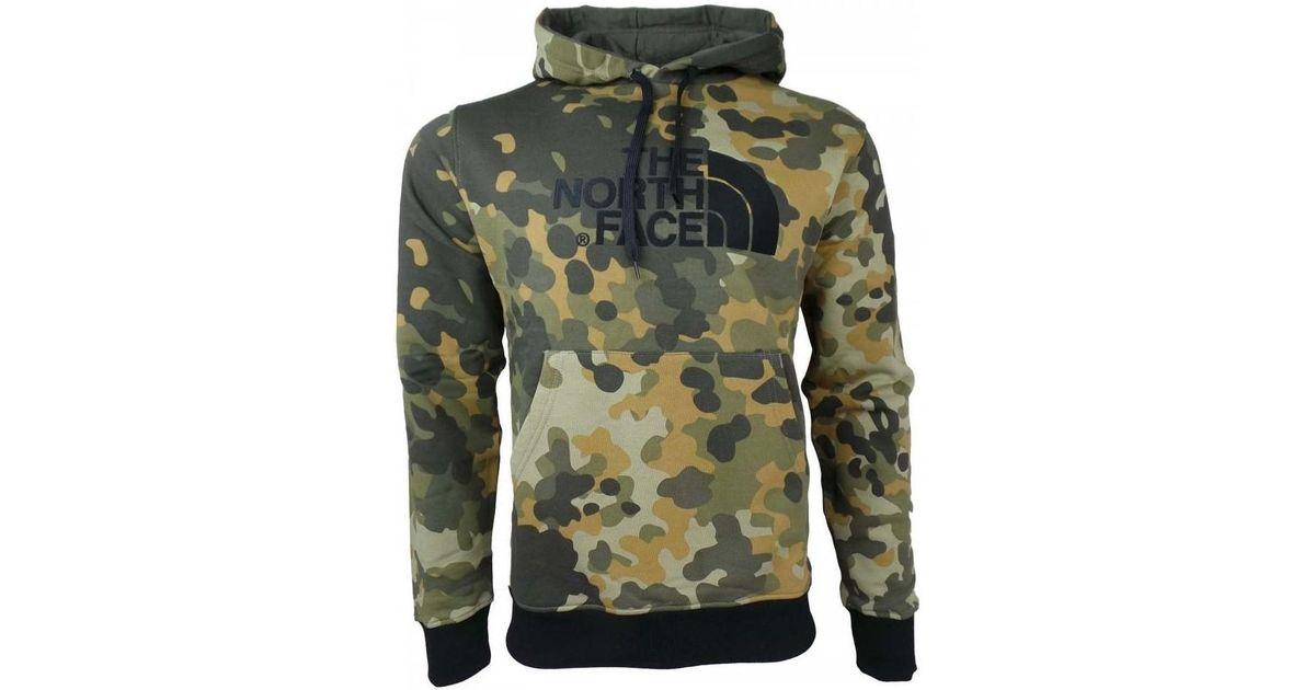 1045b884f The North Face - M Drew Peak Plv Hood Men's Sweatshirt In Green for Men -  Lyst
