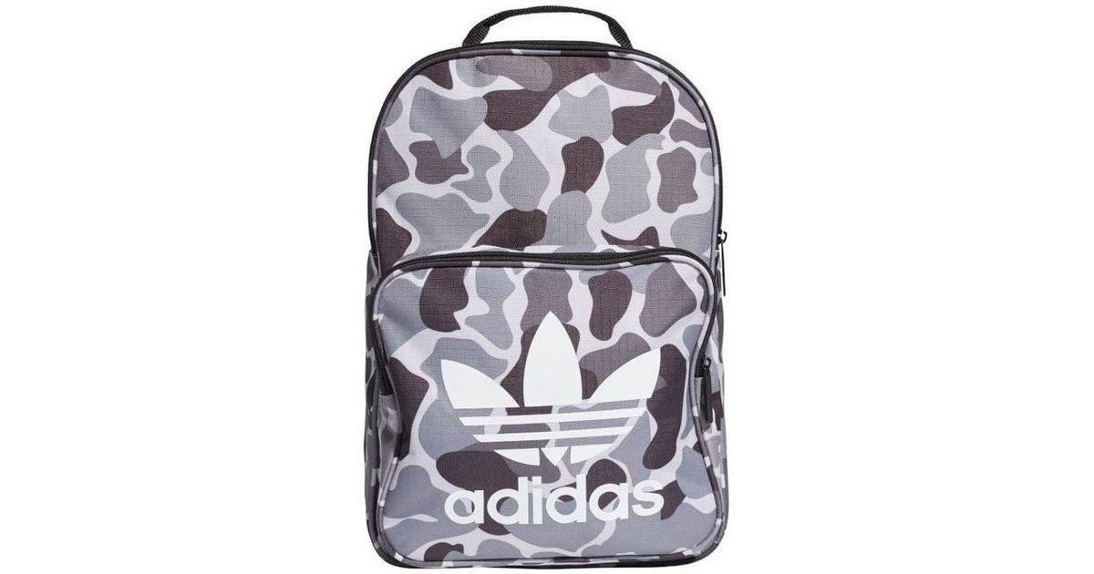 c63cb592e6db adidas Originals Classic Casual Girls s Children s Backpack In Grey in Gray  for Men - Lyst
