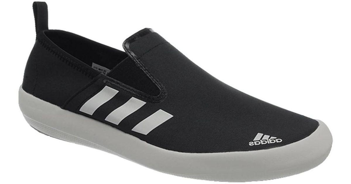 e6df3d584 adidas Boat Slipon Deluxe Men s Slip-ons (shoes) In White in White for Men  - Lyst