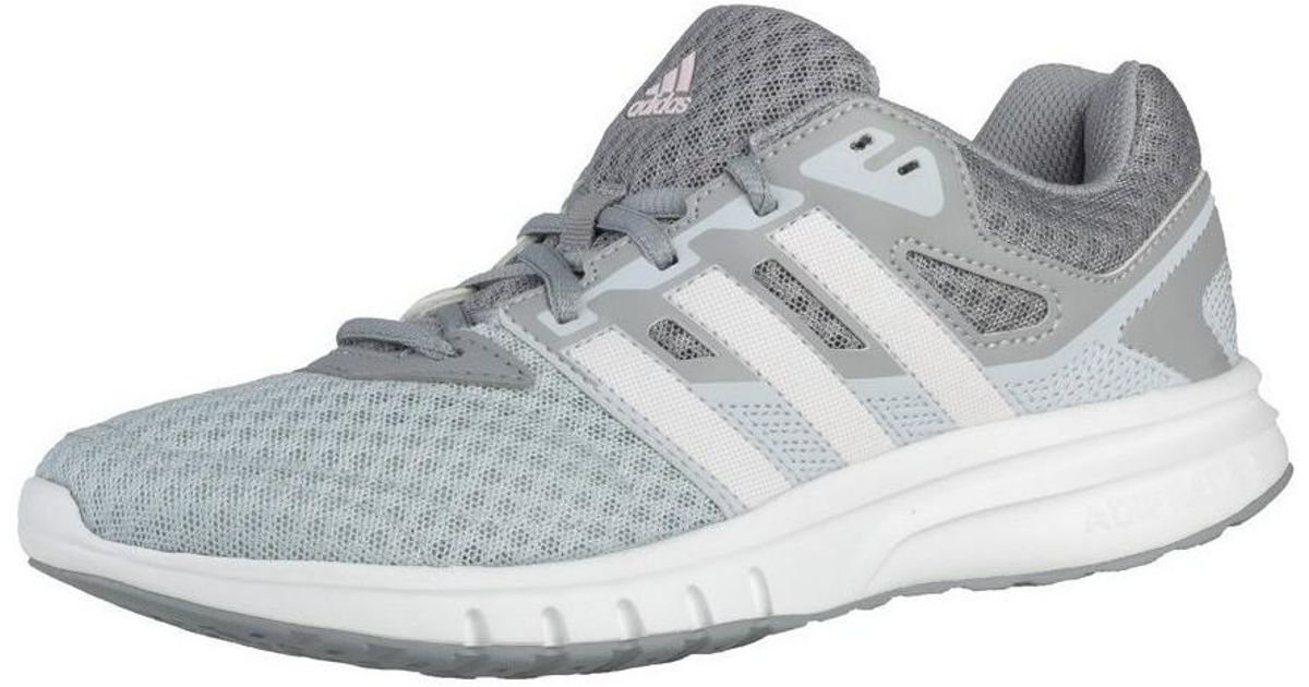 7a8e36462ca81 adidas Galaxy 2 W Women s Shoes (trainers) In Silver in Metallic - Lyst