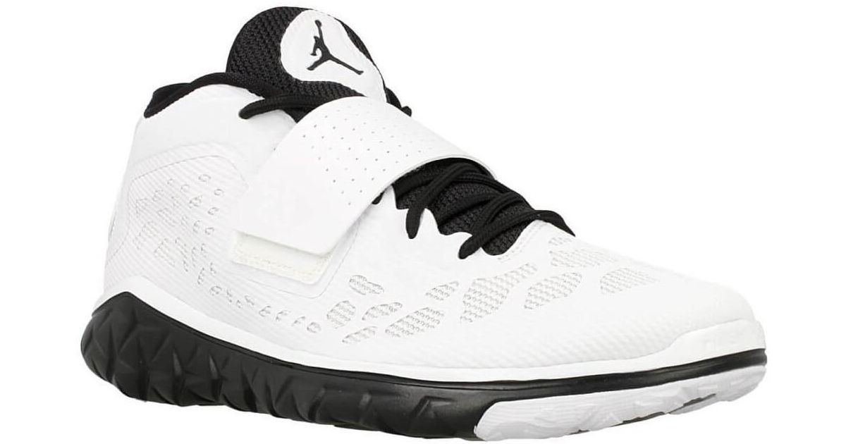 best service a414a f153f Nike - Jordan Flight Flex Trainer 2 Men's Basketball Trainers (shoes) In  White for Men - Lyst