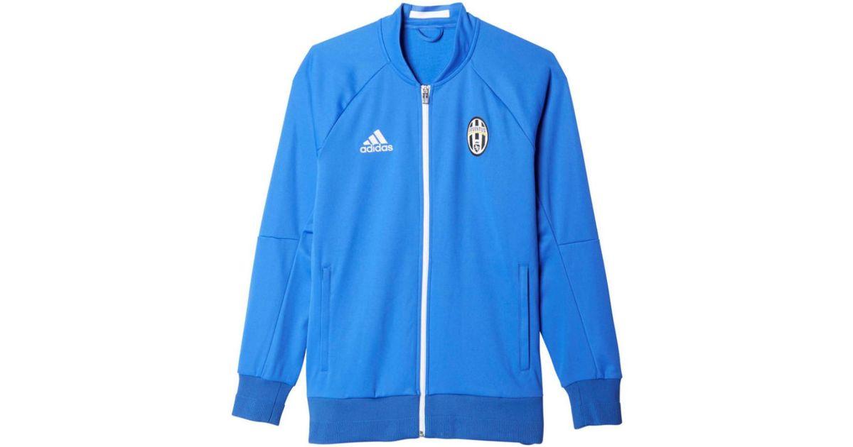 Lyst - Adidas 2016-2017 Juventus Anthem Jacket Men s Tracksuit Jacket In  Blue in Blue for Men 8a71ef82f