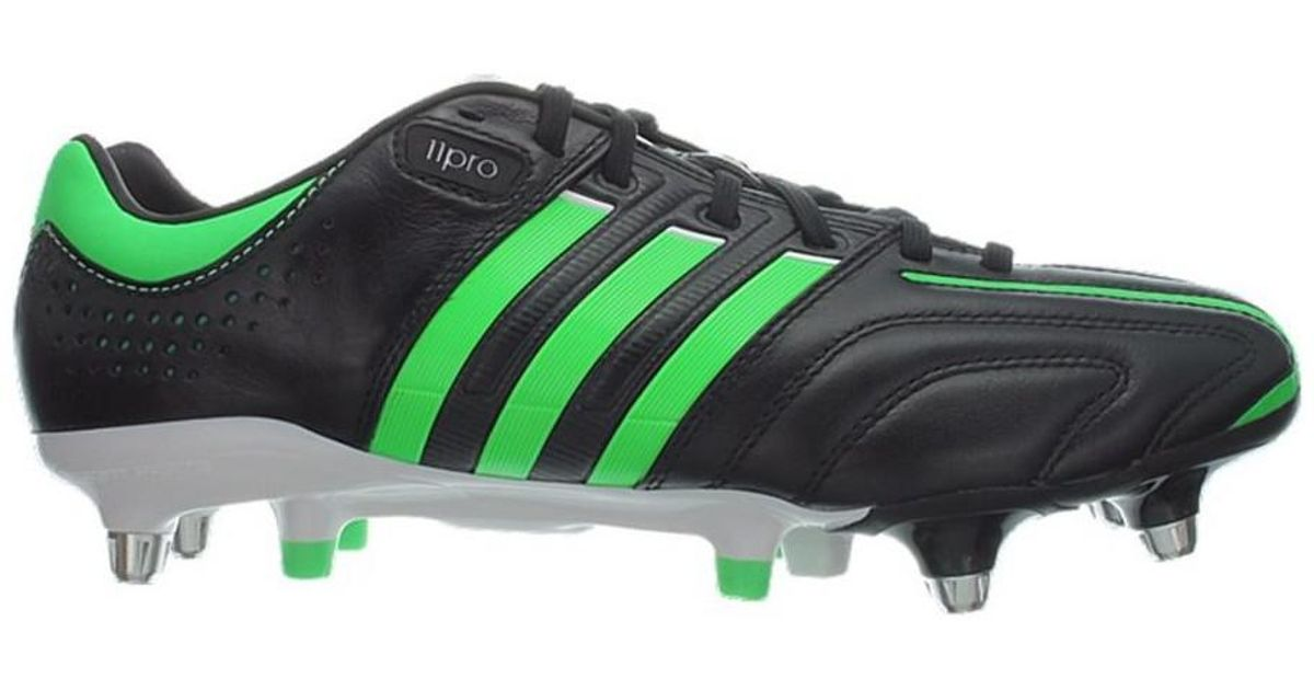 wholesale dealer f2a9b e3193 ... white black ireland adidas adipure 11pro xtrx sg mens football boots in  green in green for men lyst cheap ...