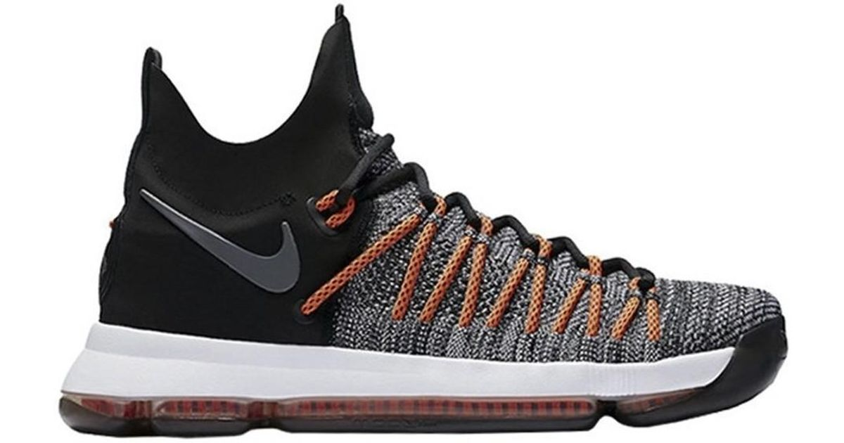 los angeles 05914 9fb95 Nike - Gray Zoom Kd 9 Elite Men's Shoes (high-top Trainers) In Grey for Men  - Lyst