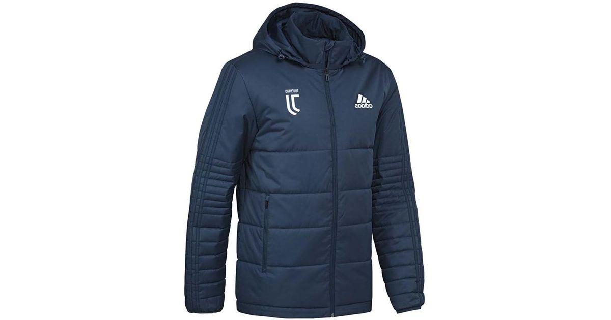 4c6d731f04d4 ... Adidas 2017-2018 Juventus Padded Winter Jacket ( Night) Women s Jacket  In Blue ...