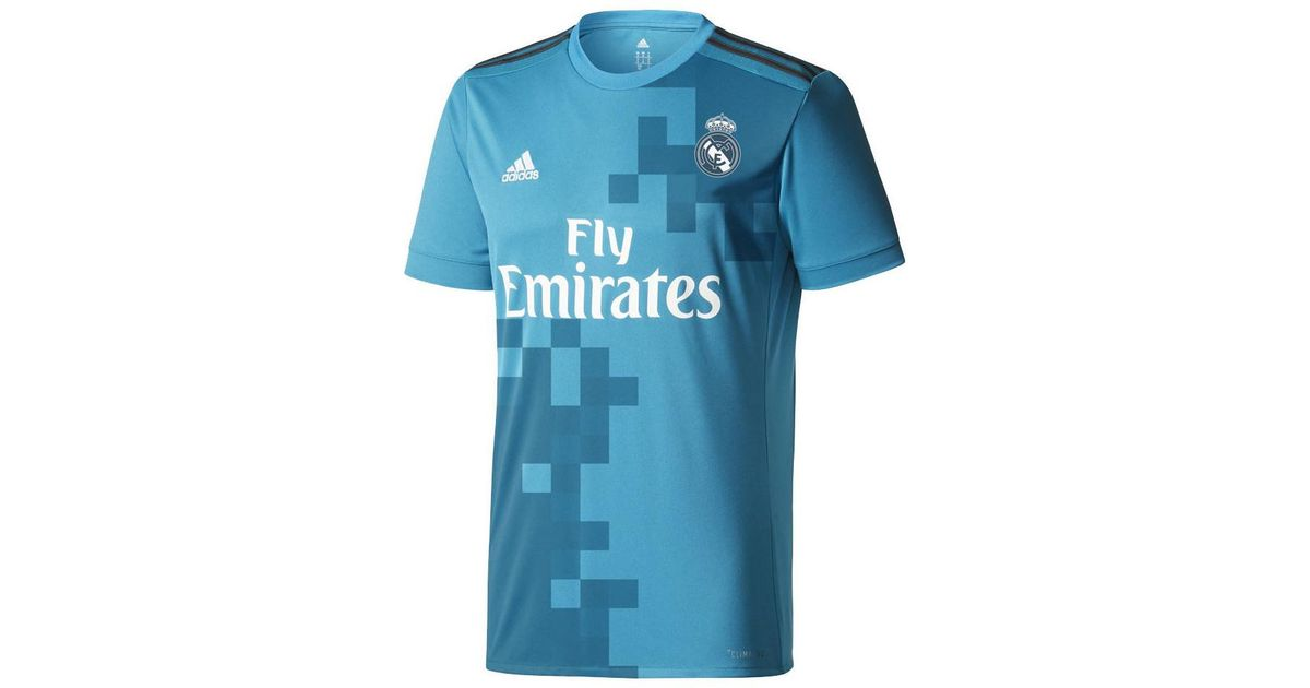 Adidas 2017-18 Real Madrid Third Shirt (ramos 4) Men s T Shirt In Other in  Blue for Men - Lyst 1f6714289
