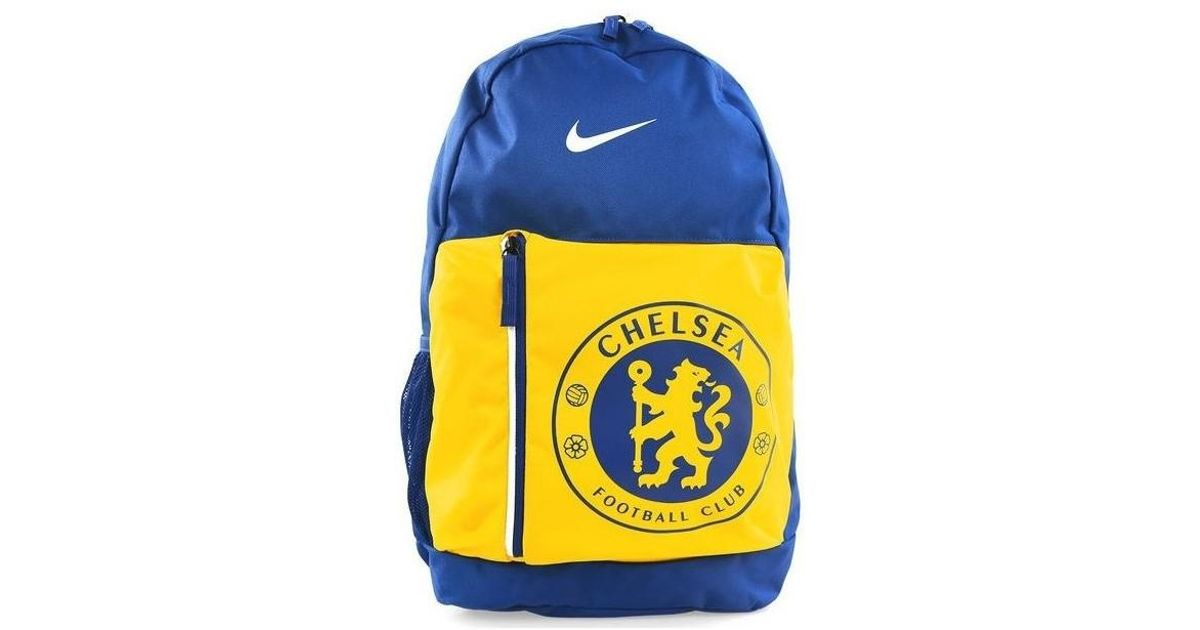 cdaf9d2bc4ee Nike Jr Chelsea Stadium Men s Backpack In Yellow in Yellow for Men - Lyst