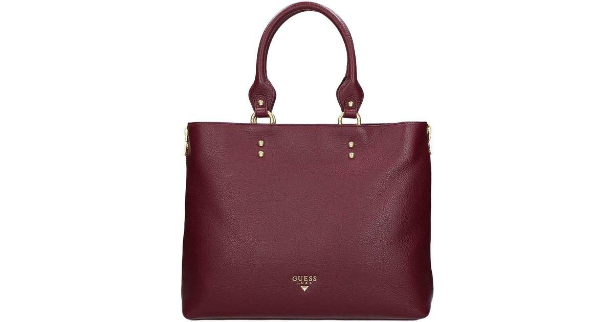 84716d355cd90 Guess Hwmart L7423 Tote Bag Women s Shopper Bag In Red in Red - Lyst