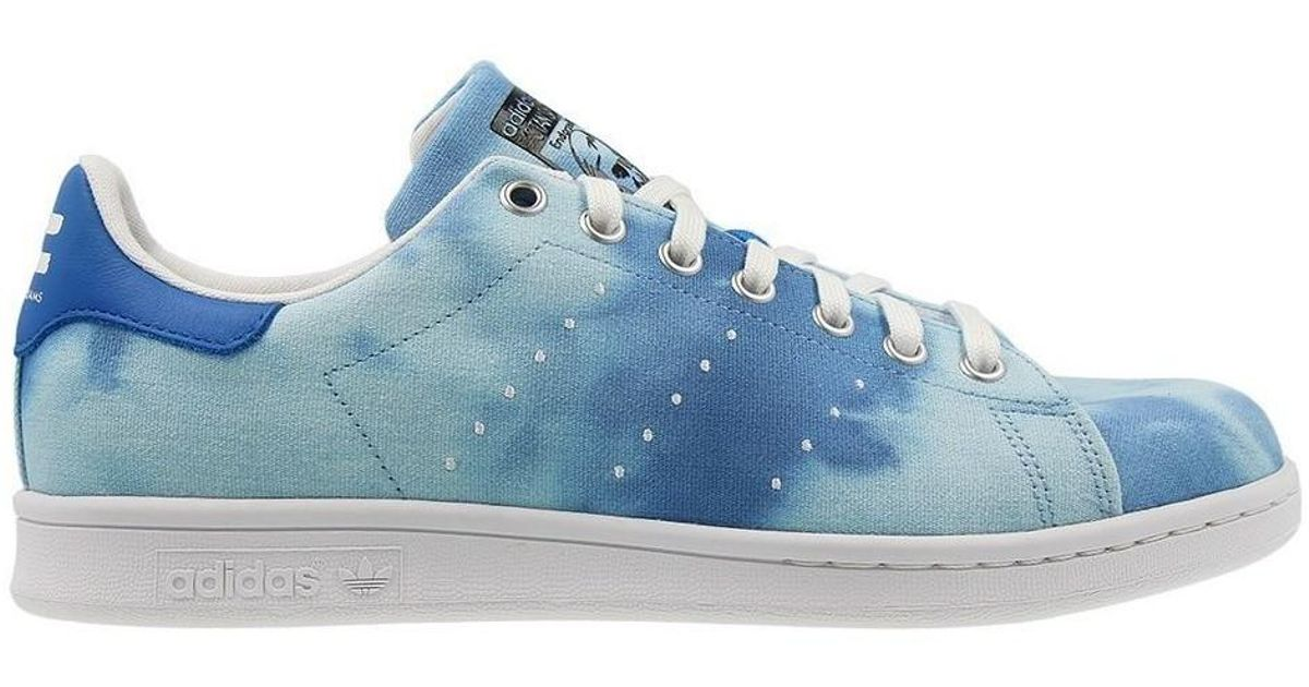 06341837e1e8d adidas Pharrell Williams Hu Holi Stan Smith Men s Shoes (trainers) In Blue  in Blue for Men - Lyst