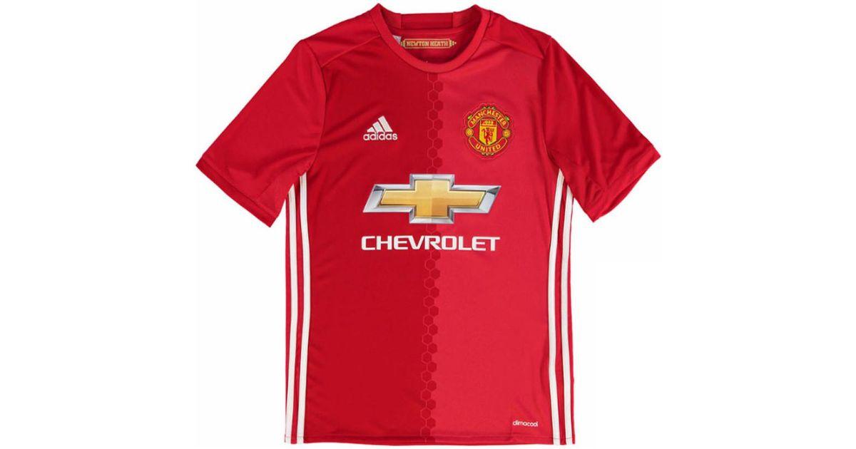 771c72a503f adidas 2016-17 Manchester United Home Shirt (schweinsteiger 31) - Kids  Men s T Shirt In Red in Red for Men - Lyst