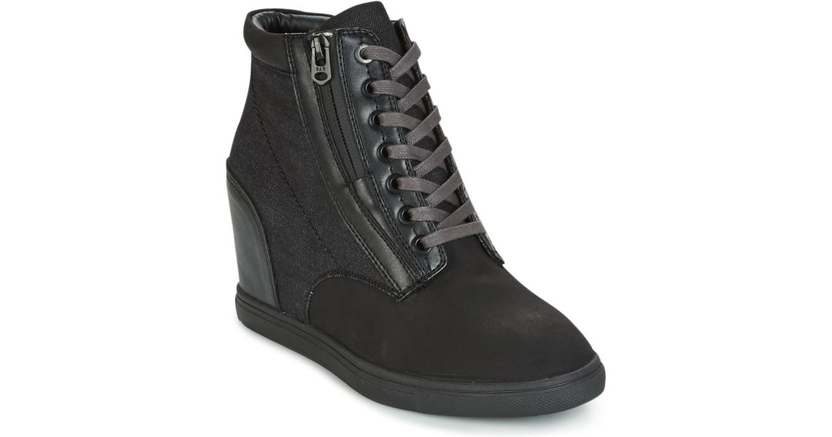 Womens Pristel Zip Wedge Hi-Top Trainers G-Star Outlet Shopping Online Find Great For Sale XtTGmMJ