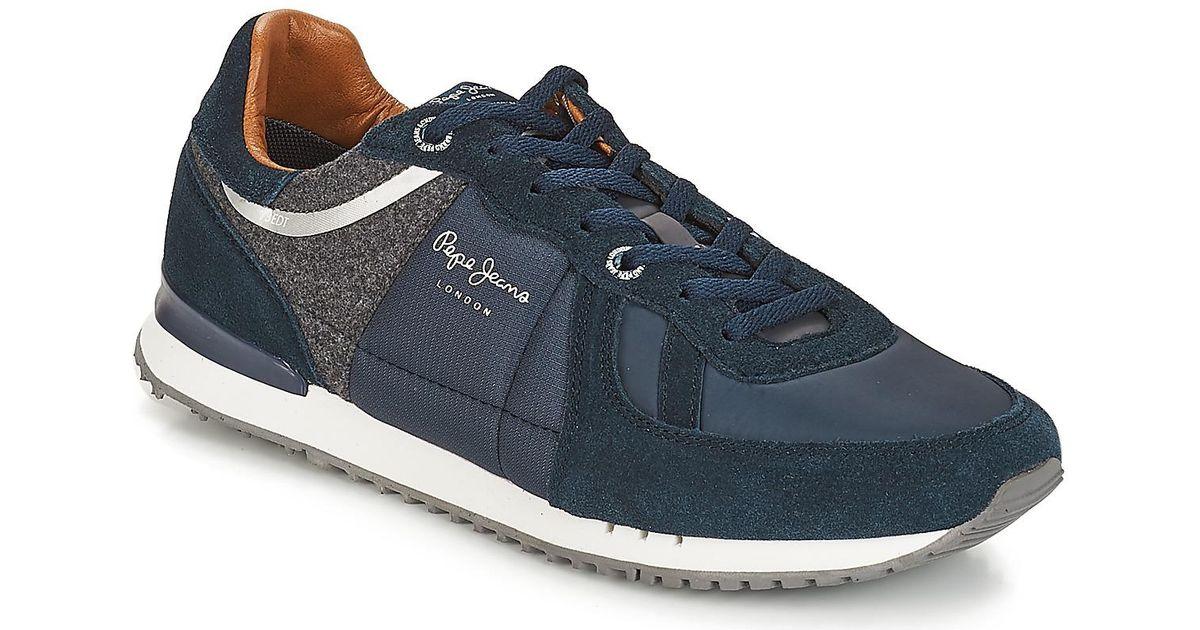 Men Jeans Pepe Blue Lyst For Tinker ShoestrainersIn 1TFKclJ3
