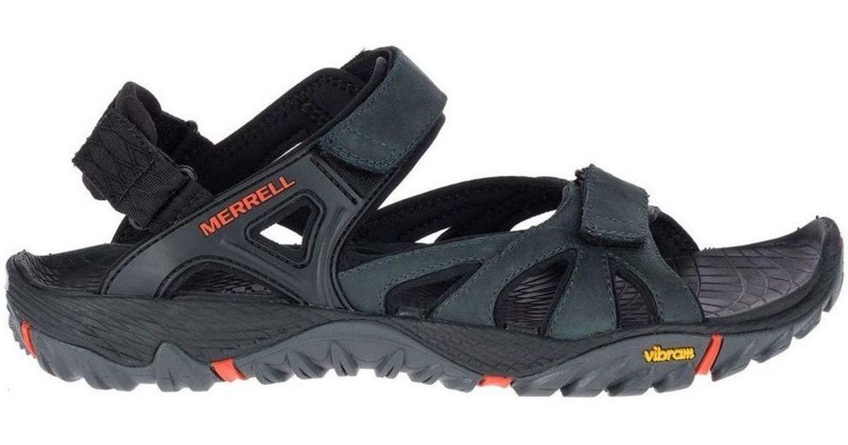 4b77dae9913f Merrell All Out Blaze Sieve Convert Men s Sandals In Black in Black for Men  - Lyst