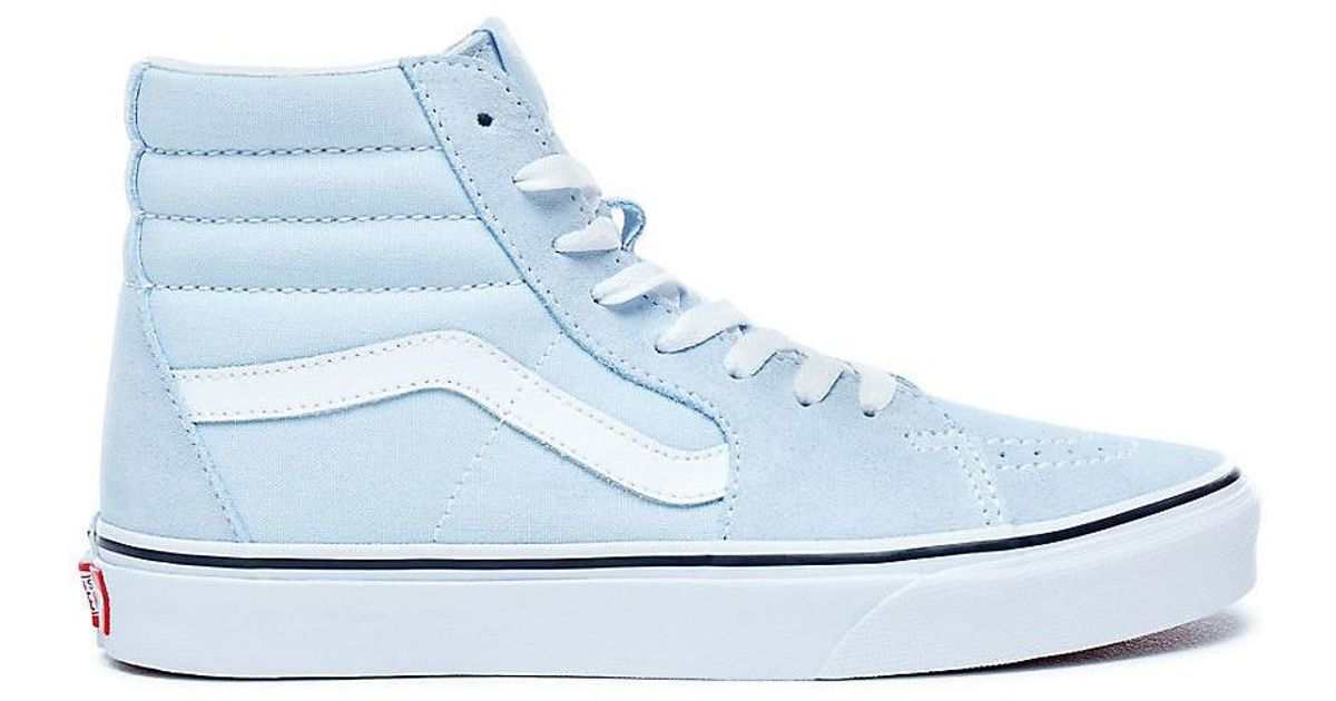76f929807ae5 Vans Sk8-hi Baby Blue Women s Shoes (high-top Trainers) In Blue in Blue -  Lyst