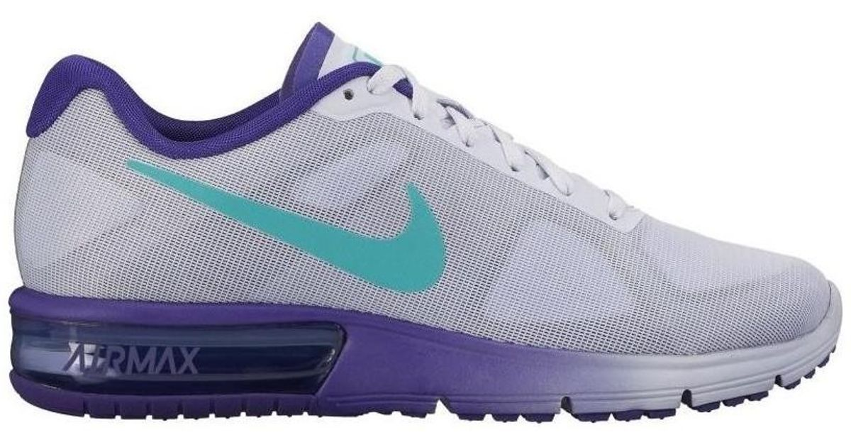 8a69af7dd45bd Nike Air Max Sequent Women s Shoes (trainers) In Multicolour - Lyst