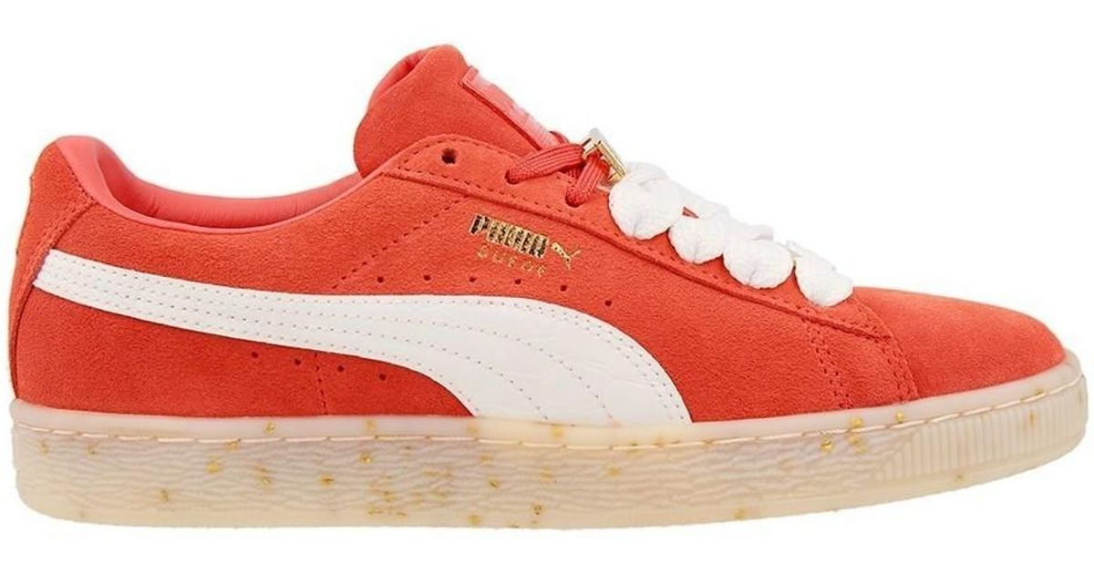 low priced 807fc 0fec1 PUMA - Suede Classic Bboy Fab Wn S Spiced Women's Shoes (trainers) In Red -  Lyst