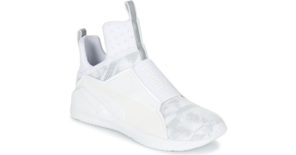 Puma Fierce Swan Women s Shoes (high-top Trainers) In White in White - Lyst 6f4a1307c
