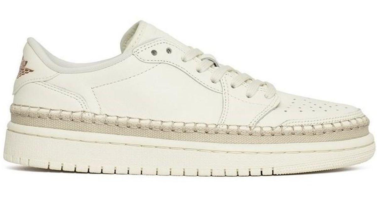 d139decdce74 Nike Wmns Air Jordan 1 Retro Low Ns in White - Lyst