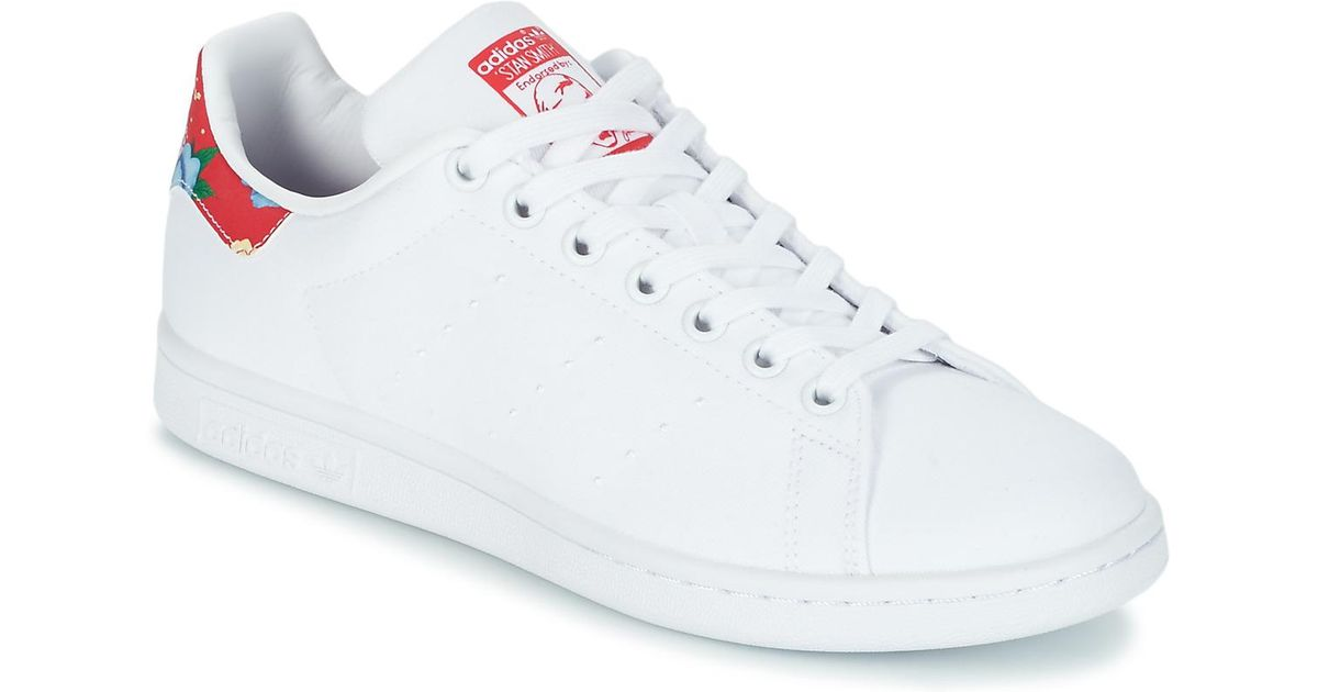f98a2703de502 adidas Stan Smith W Women s Shoes (trainers) In White in White - Lyst