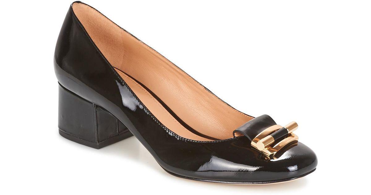 d1f8d209e176 MICHAEL Michael Kors Gloria Mid Pump Women s Court Shoes In Black in Black  - Lyst