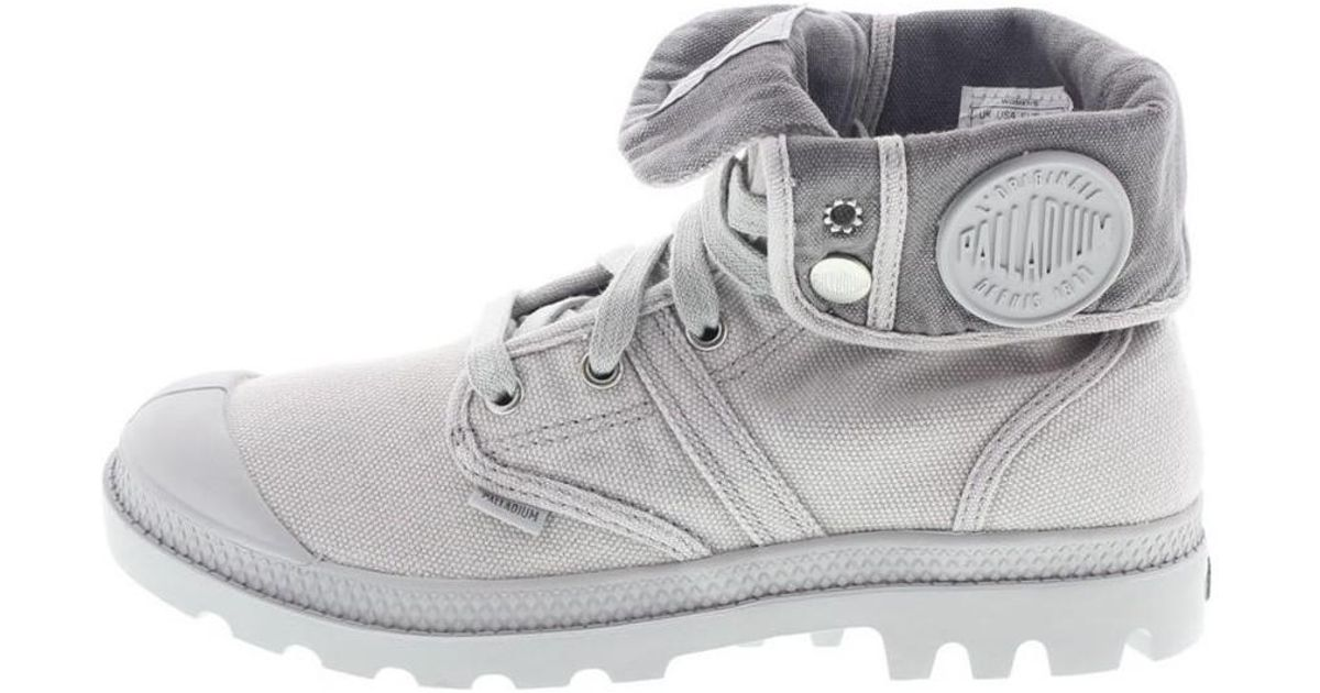 Palladium Lady Pallabrouse Baggy Women s Walking Boots In Grey in Gray -  Save 1.5503875968992276% - Lyst 8f3cbdb295f3