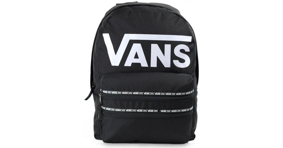 1c536a55c81 Vans Mochila Mochila De A Diario, Black White Logo (negro) - Va3imey Men's  Backpack In Black in Black for Men - Lyst