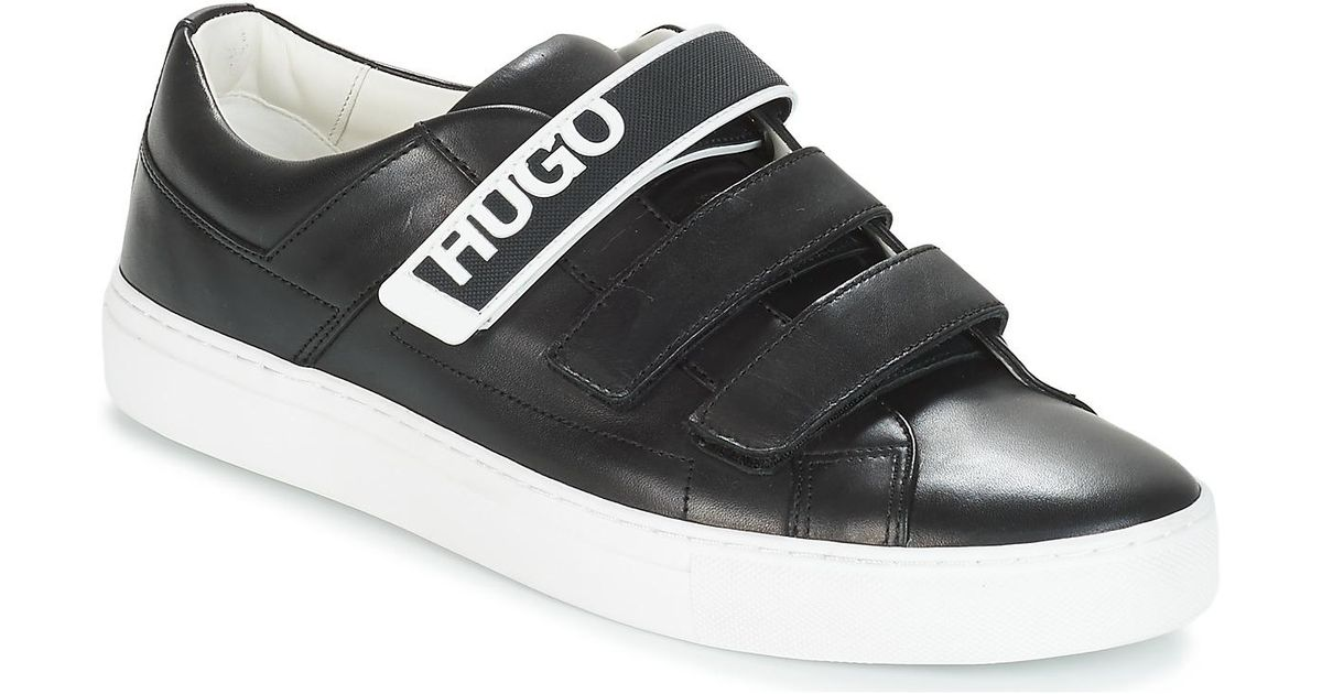 Shoes Men's trainers In 3vlc Futurism Tenn Black Hugo For qwz6F