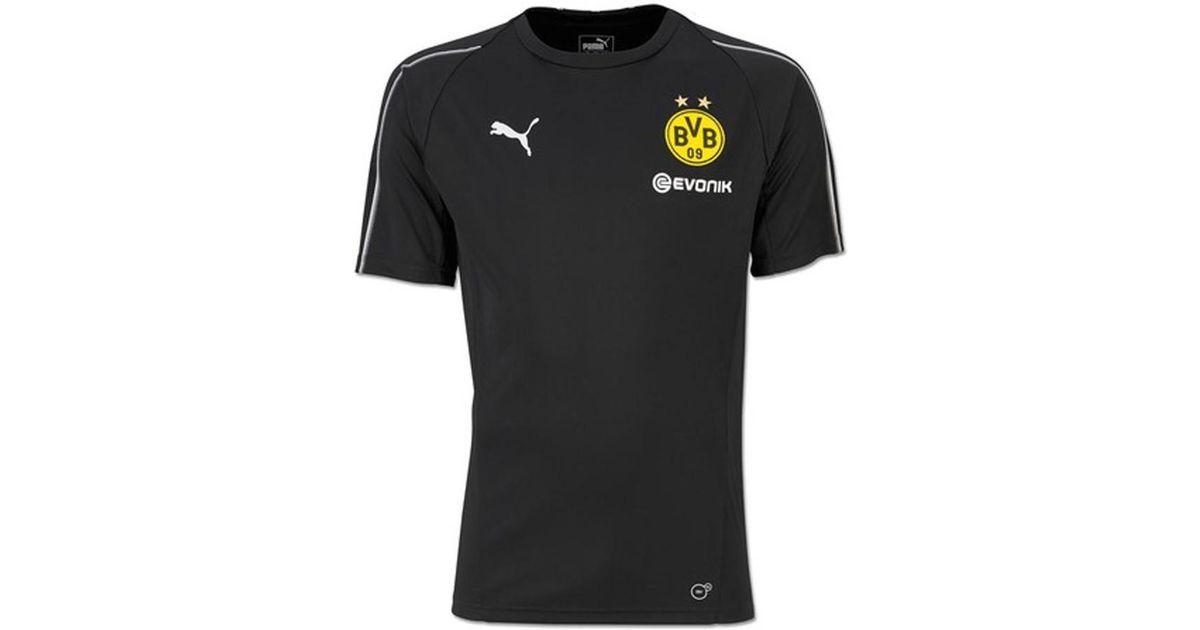 Puma 2018-2019 Borussia Dortmund Training Shirt Men s T Shirt In Black in  Black for Men - Lyst f1a4e5c25
