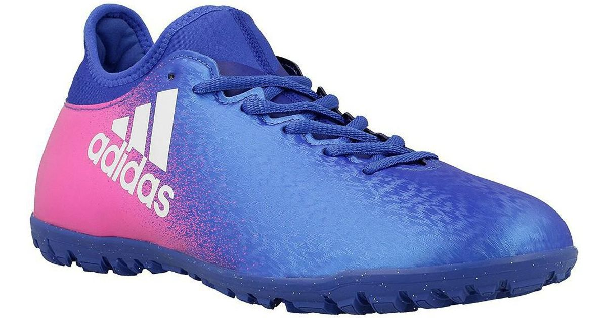 sale retailer d21ab 50e1c adidas X 163 Tf Men s Football Boots In Pink in Pink for Men - Lyst
