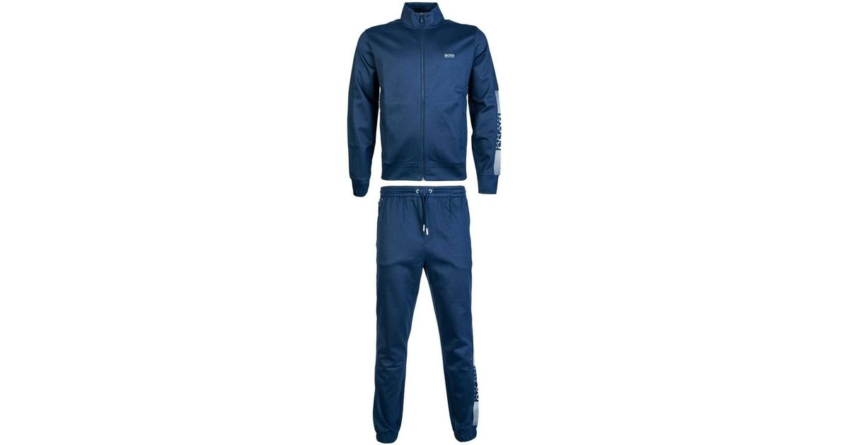 2c816189b Boss Tracksuit Model Quot;sl-tech 50389054 / Hl-tech 50389 Men's In Blue in  Blue for Men - Lyst