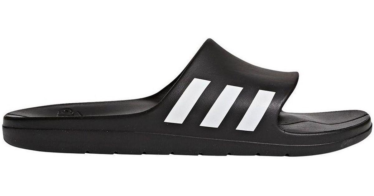 17be22768764 Adidas Aqualette Slides Black Men s Flip Flops   Sandals (shoes) In  Multicolour in Black for Men - Lyst