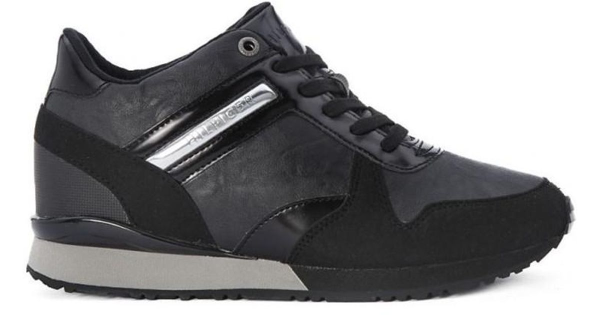 Tommy Hilfiger Scarpa Women s Shoes (trainers) In Black in Black - Lyst 5a7d17b33d2