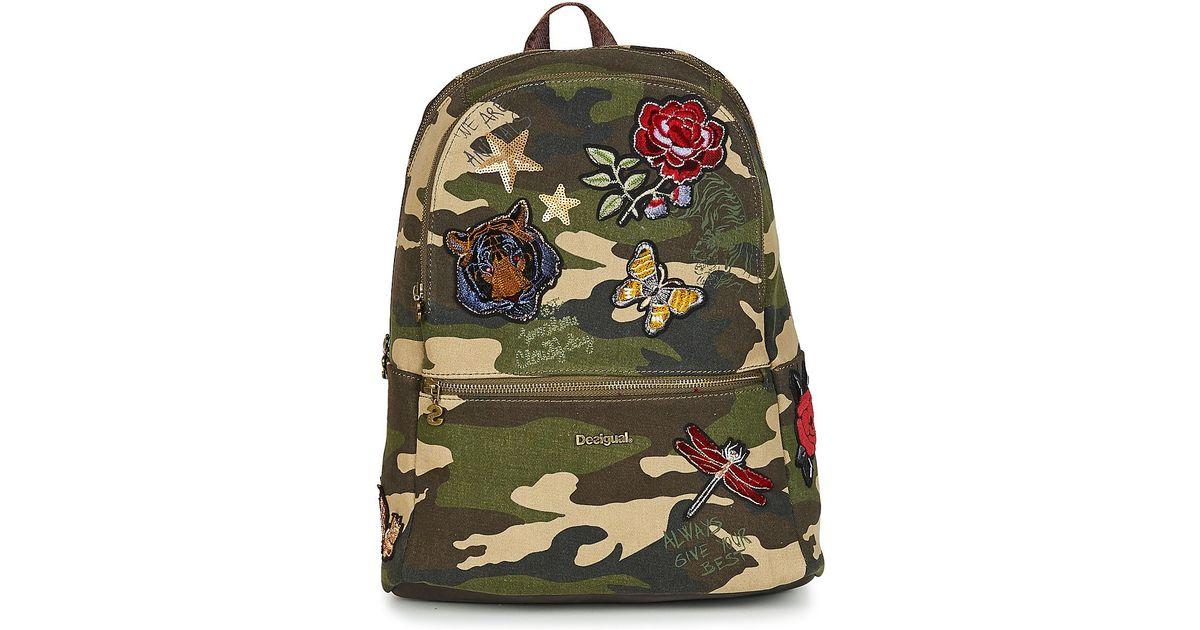 ca0004987495 Desigual Bols Always Milan Backpack in Green for Men - Lyst