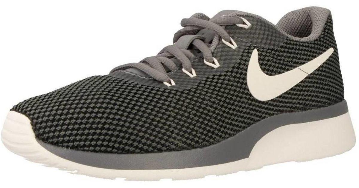 Nike - Gray Tanjun Racer Women's Shoes (trainers) In Grey - Lyst