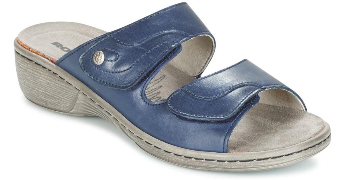 purchase cheap c0167 29ac6 romika-blue-Mainau-17-Womens-Mules-Casual-Shoes-In-Blue.jpeg