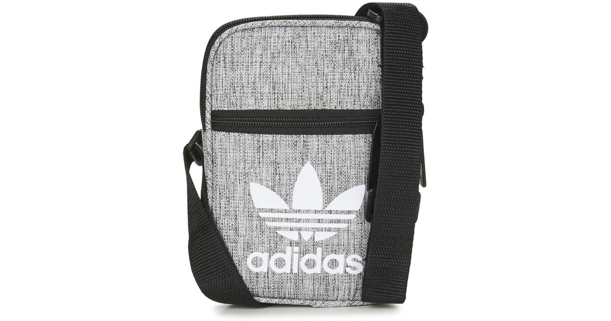 adidas Festival Bag Men s Pouch In Grey in Gray for Men - Lyst 6e2624f5c5938