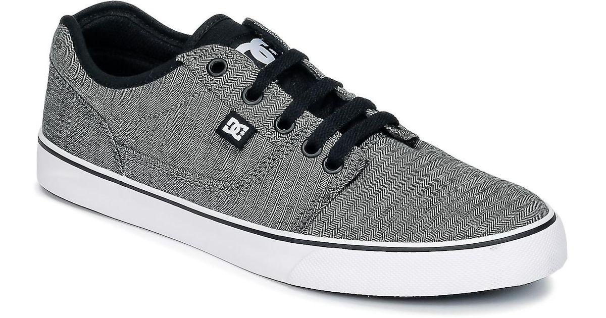 DC Shoes Gray Tonik Tx Se M Shoe Kbk Men's Shoes (trainers) In Grey for men